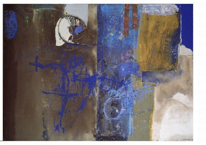 Praca Mariana Waldemara Kuczmy ''Blue Velvet II'', 2006.