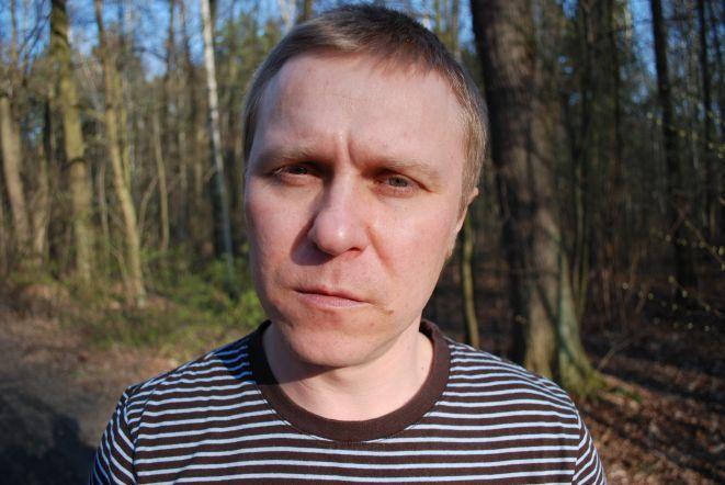 Grzegorz Wojdon, odtówrca roli Ricka.
