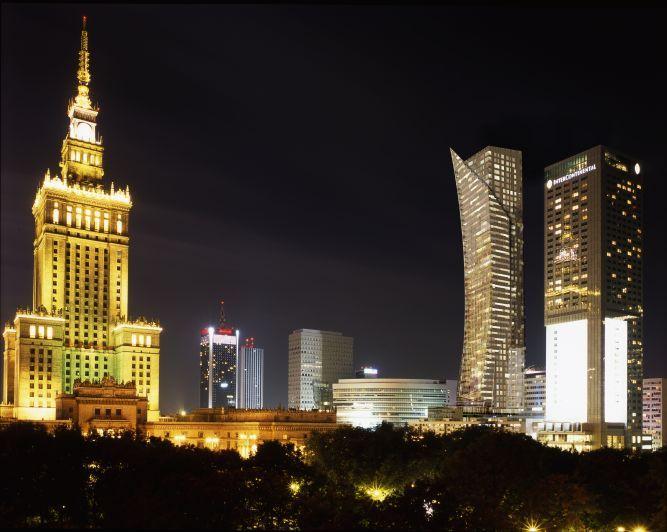 """""""Złota 44"""" będzie najwyższym apartamentowcem w Warszawie i będzie mierzyć 192 metry wysokości."""