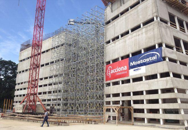 Budynek będzie gotowy za rok