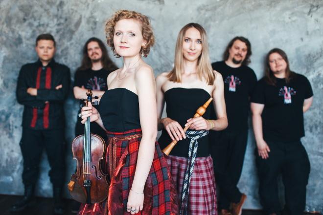 Jednym z gości festiwalu był białoruski zespół Pawa