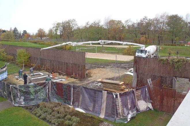 Budowa nowej zewnętrznej sauny fińskiej już ruszyła