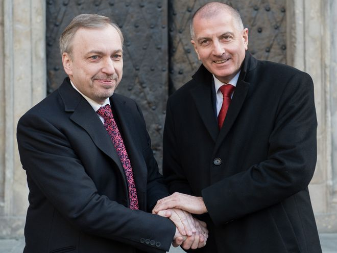 Bogdan Zdojewski jednak popiera Rafała Dutkiewicza