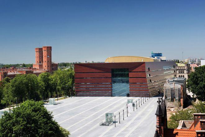 Gmach Narodowego Forum Muzyki wzbudza zachwyt wielu