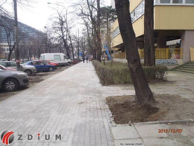 Nowy chodnik na ulicy Powstańców Śląskich