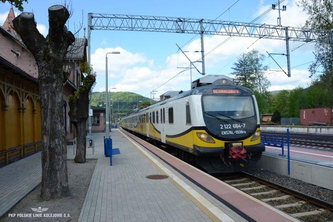 Stacja w Piechowicach wypiękniała