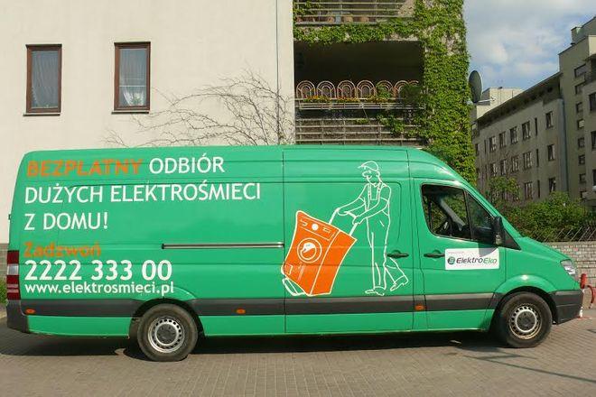 Bezpłatny odbiór elektrośmieci z domu też jest możliwy