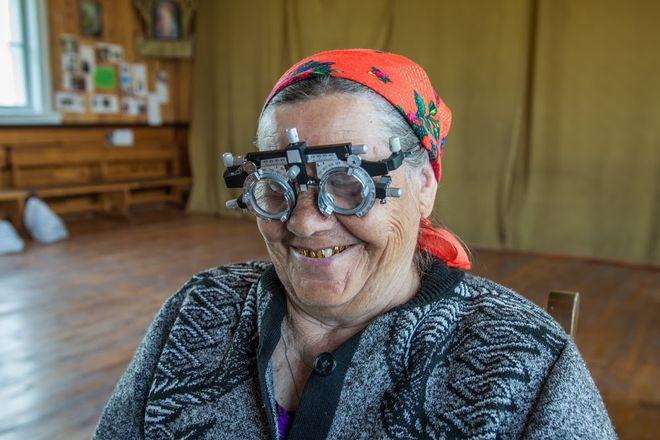 Mieszkańcy Syberii są z darów bardzo zadowoleni