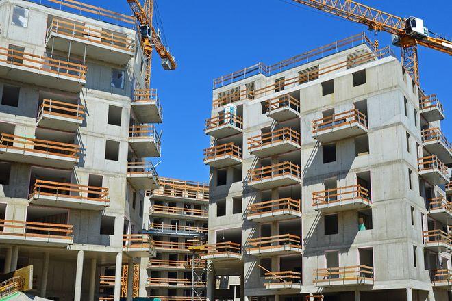 Budowa jednego z osiedli