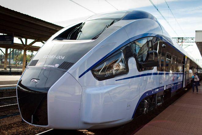 Pociągi są nowoczesne