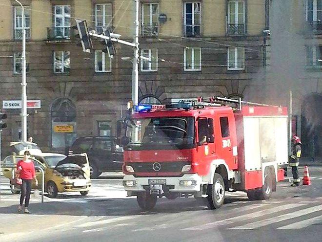 Gdy strażacy przyjechali na miejsce sytuacja była już opanowana