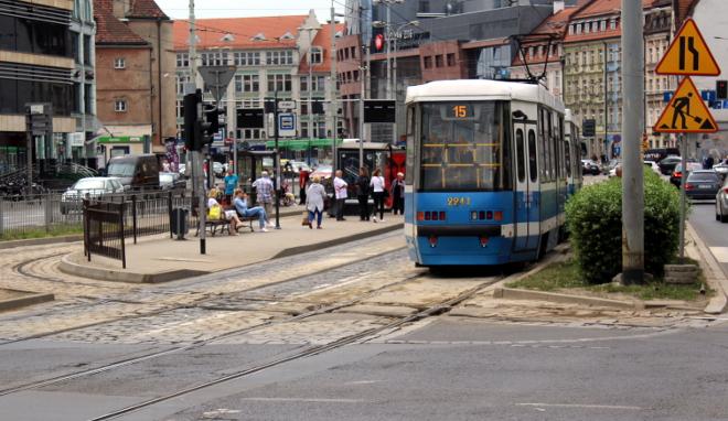 Od 4 do 24 czerwca potrwa remont torowiska na skrzyżowaniu ul. Kazimierza Wielkiego i św. Mikołaja