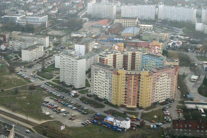Zimno odczuwali m.in. mieszkańcy bloków na Różance i Polance