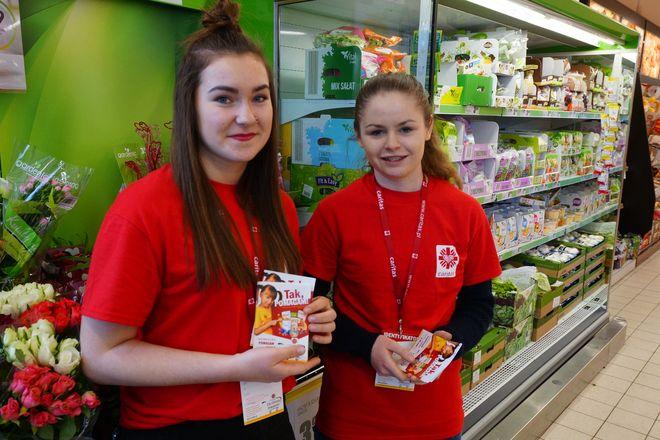 Zbiórkę w wielu wrocławskich marketach prowadzili wolontariusze