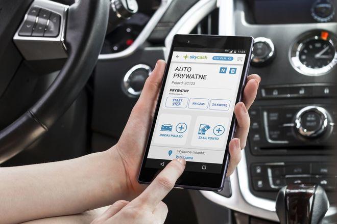 Kierowcy mogą płacić za parkowanie dzięki mobilnej aplikacji