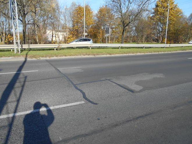 Fragment ulicy po naprawie