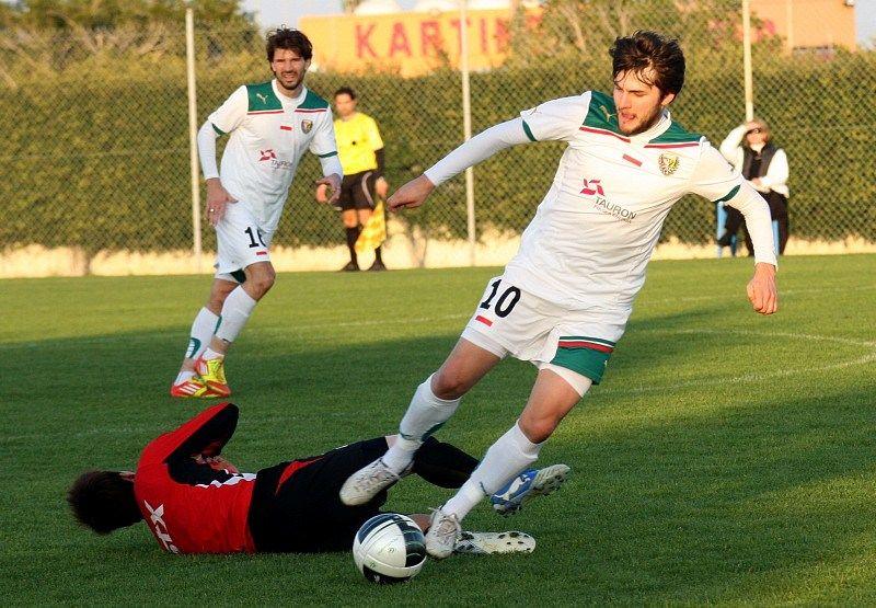 Mateusz Cetnarski w 90 minucie ustalił wynik spotkania