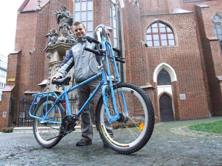 Skradziony rower Staszka Kośnika