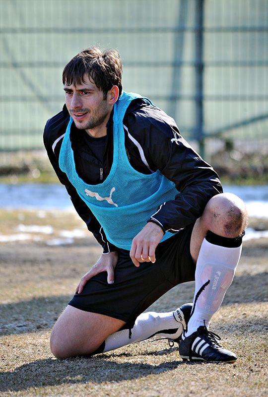 Nowy napastnik Śląska, Ljubiša Vukleja, ma spore zaległości treningowe i trzeba będzie poczekać, aż będzie mógł grać na najwyższych obrotach