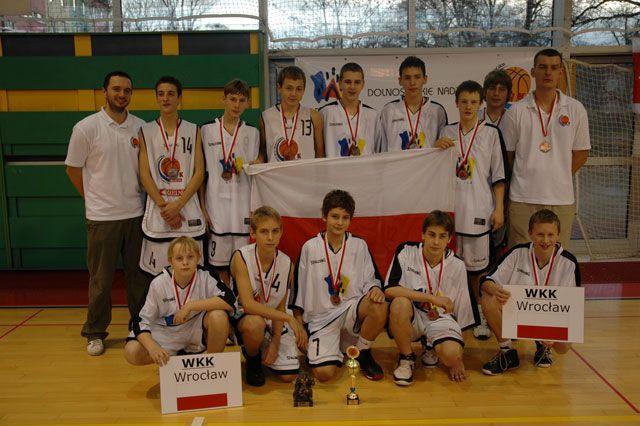 Wrocławski Klub Koszykówki święci triumfy w turniejach młodzieżowych.