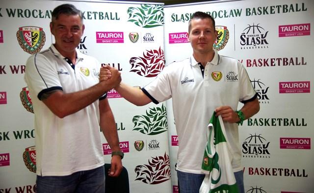 Maciej Zieliński (z lewej) i Kamil Chanas