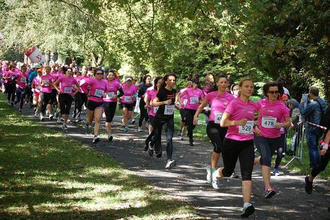 Niedawno w parku Grabiszyńskim odbył się bieg tylko dla kobiet