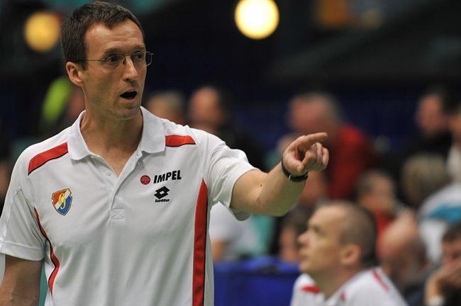 Klęska w czwartym secie nie pozwoliła trenerowi Błaszczykowi i jego drużynie na osiagnięcie korzystnego wyniku w meczu z Rabitą.