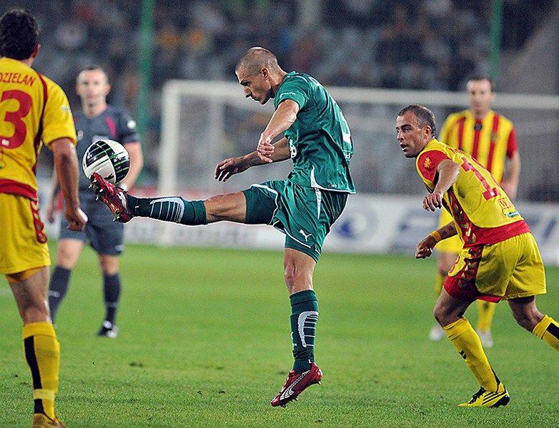 Piotr Celeban strzelił swoją pierwszą bramkę dla Śląska w tym sezonie.