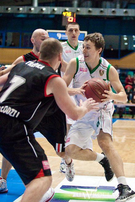 Bartosz Diduszko zagrał doskonałą czwartą kwartę w meczu z ŁKS-em Łódź