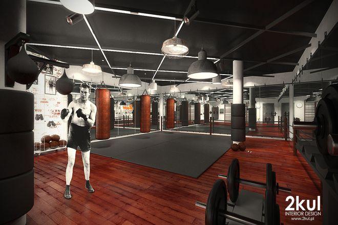 Sala sztuk walki w nowej strefie fitness