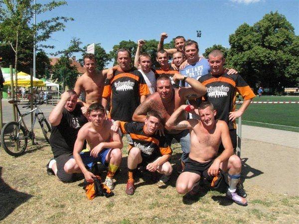 Śródmieście zajęło drugiem miejsce w tabeli rozgrywek SPARTAN CUP.