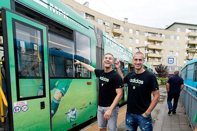 Tomasz Hołota i Piotr Celeban jeździli już w tramwaju