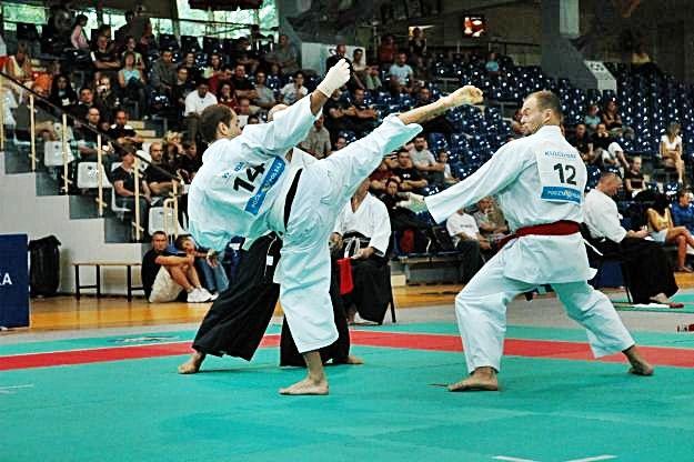 4 lata temu we Wrocławiu odbywały się też mistrzostwa kraju w karate tradycyjnym