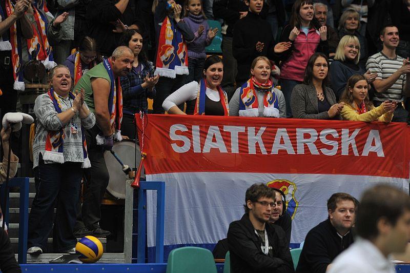 Wrocławscy kibice liczą na zwycięstwo w meczu z Lokomotivem Baku.