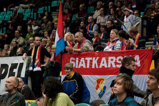 Kibice wrocławskiej Gwardii liczą na zwycięstwo nad zespołem aktualnych Mistrzyń Polski.