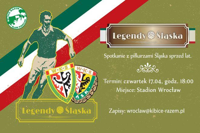 Kibice Śląska będą mogli wraz z zawodnikami powspominać dawne czasy i sukcesy WKS-u