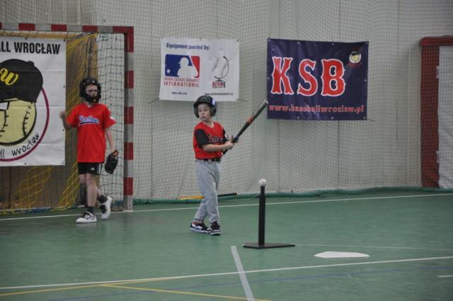 Wrocławski Klub Baseballowy znany jest z dobrej pracy z młodzieżą.