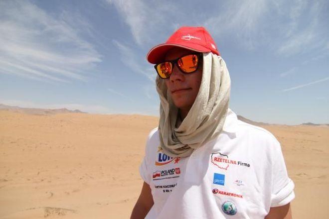 Jednym z prelegentów będzie kierowca rajdowy Martin Kaczmarski