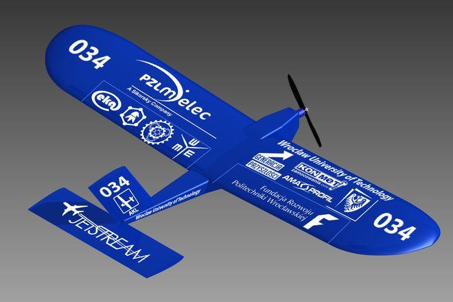 Oto jeden z modeli samolotów, który weźmie udział w zawodach