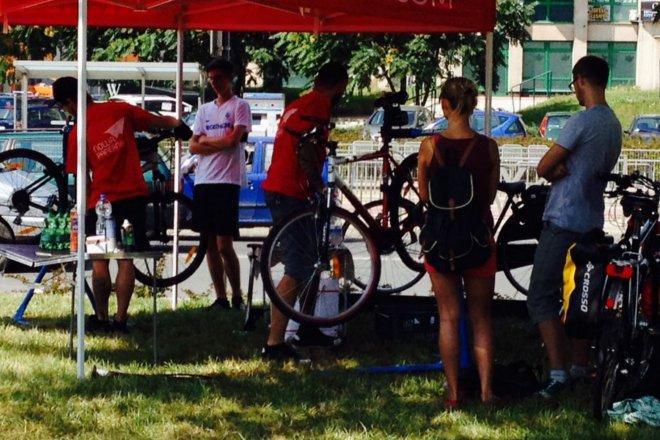 Darmowy serwis rowerowy we Wrocławiu