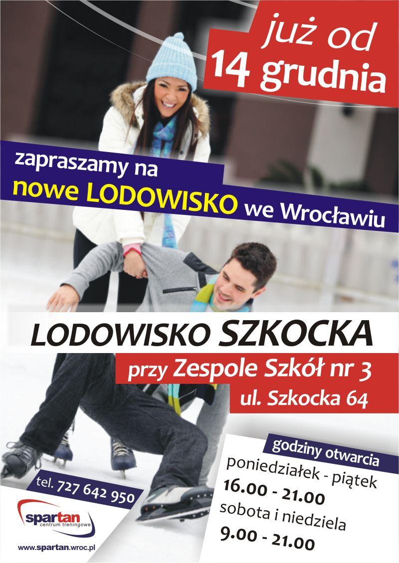 Już w najbliższą środę zostanie otwarte we Wrocławiu trzecie lodowisko.