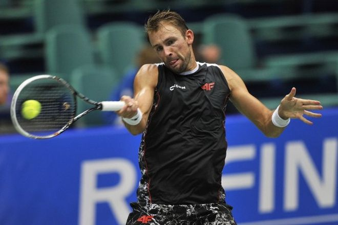 Łukasz Kubot już pożegnał się z turniejem we Wrocławiu