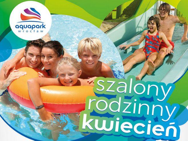 W kwietniu warto wybrać się do Aquaparku całą rodziną