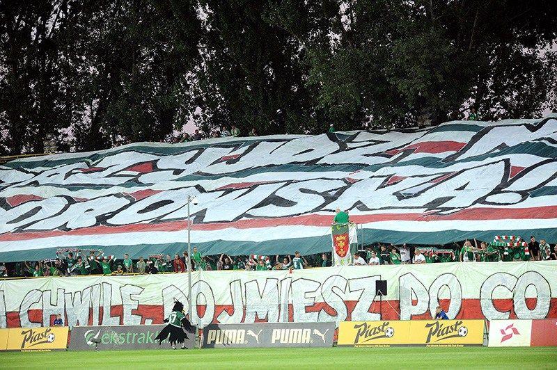 Tak było na meczu Lechia Gdańsk - Śląsk Wrocław