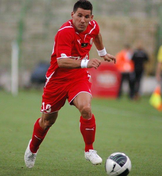 W Bytomiu Vuk Sotirović rozegrał tylko 45 minut.