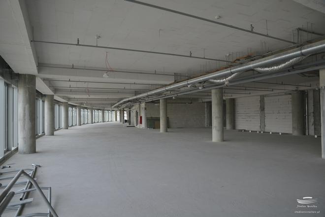 W tej przestrzeni wrocławskiego stadionu pojawi się siłownia