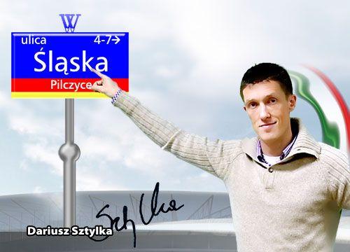 Daiusz Sztylka popiera propozycję nazwy ulicy przy, której stanie nowy stadion Śląska.