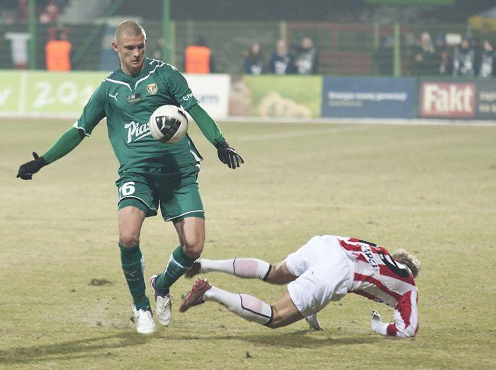 Przemysław Kaźmierczak jesienią grał mało, bo wracał do formy po kontuzji. Nie jest jednak pewne, że wiosną sytuacje się nie powtórzy, ale tym razem z powodu dużej konkurencji w zespole.