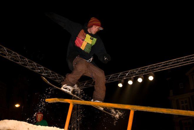 Wielbiciele snowboardu 30 listopada powinni być we Wrocławiu