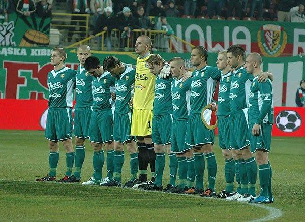 Wygrana z Arką Gdynia pozwoli zespołowi z Wrocławia na awans w tabeli Ekstraklasy.